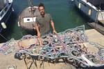 A Lampedusa l'installazione subacquea di Domenico Pellegrino