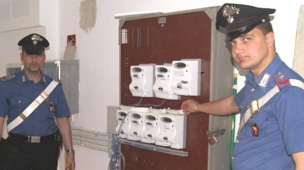 furto energia elettrica, Palermo, Cronaca