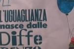 Festa per bambini a Palermo sotto il segno dell'uguaglianza