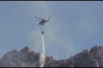 Incendi da Corleone ad Altavilla, fiamme a Santa Maria di Gesù: il Palermitano brucia ancora - Video