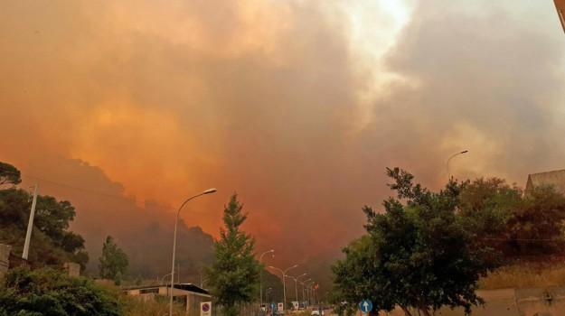 incendiario arrestato, Messina, Cronaca