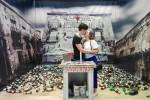 Tutti pazzi per piazza Garraffello: successo per l'installazione di Uwe Jaentsch a Palermo