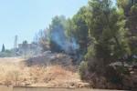 Agrigento, appicca un incendio di sterpaglie: arrestato un 43enne