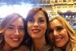 Boschi al concerto di Tiziano Ferro, su Twitter la foto dagli spalti con le amiche