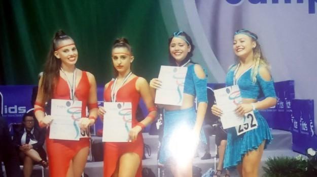 campionato italiano di danza sportiva, ragazze palermitane sul podio, Palermo, Sport