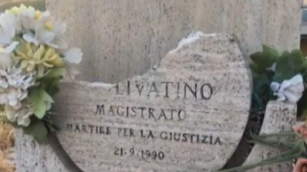 stele livatino canicattì, Agrigento, Cronaca