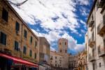 La Torre di San Nicolò, nel cuore di Ballarò. Qui è stata allestita l'installazione artistica