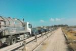 Cantieri in via Libica a Trapani, disagi per la viabilità