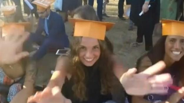 Università, studenti in festa a Palermo per il Graduation Day