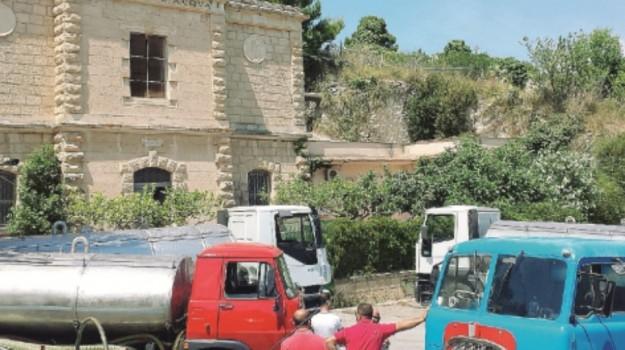 Crisi idrica ad Alcamo, Trapani, Cronaca