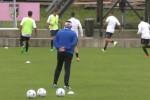 Doppio allenamento per il Palermo, Coronado segna il primo gol