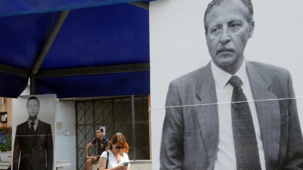 anniversario strage via d'amelio, attentato borsellino, Paolo Borsellino, Palermo, Cronaca