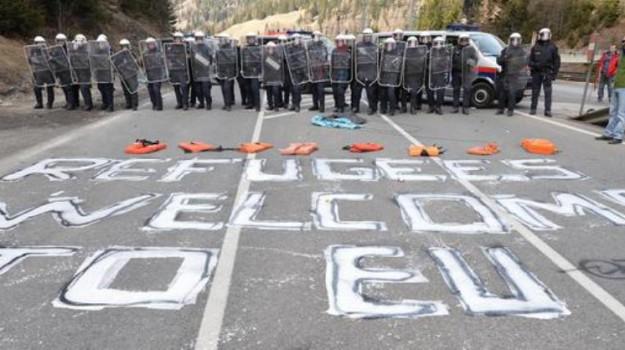 frontiera del brennero, migranti, Sicilia, Mondo