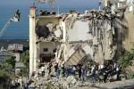 Palazzina crollata a Torre Annunziata - Ansa