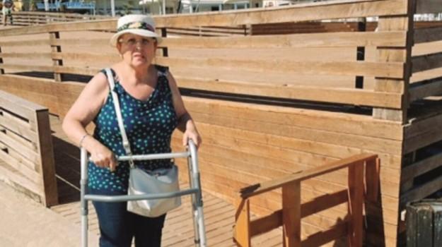 Disabili a Selinunte, Trapani, Cronaca