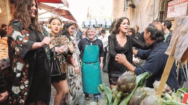festa dolce&gabbana palermo, sfilata dolce&gabbana palermo, Palermo, Società