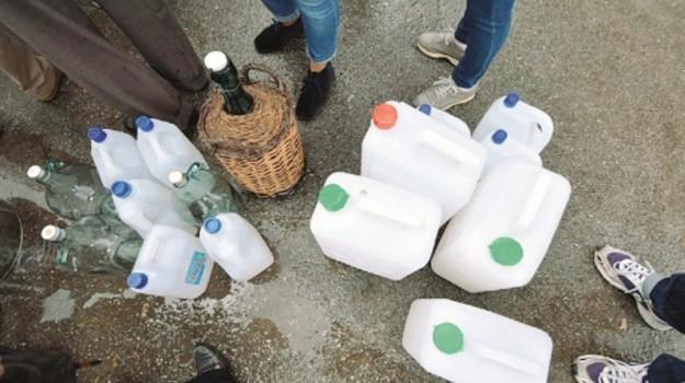 erogazione idrica a messina, Messina, Cronaca