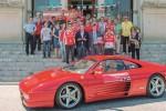 Acquedolci si tinge di rosso per il raduno delle Ferrari