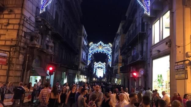 festino 2019, santa rosalia, strade chiuse, Palermo, Cronaca