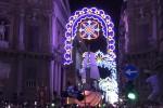"""Santa Rosalia torna a casa nel """"suo"""" palazzo reale: spettacolo rievocativo con maxi schermo"""