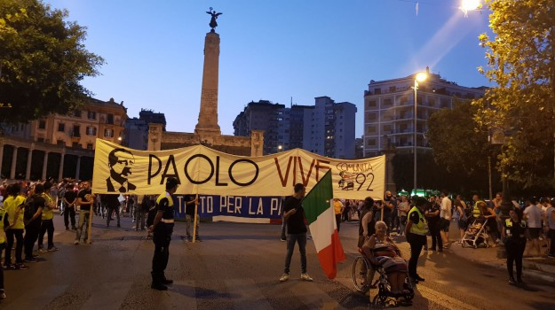 anniversario strage via d'amelio, Palermo, Cronaca