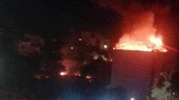 Esplosione a Gravina di Catania, Catania, Cronaca