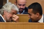 Beppe Grillo con Luigi Di Maio