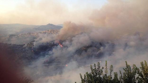 incendi enna, Enna, Cronaca