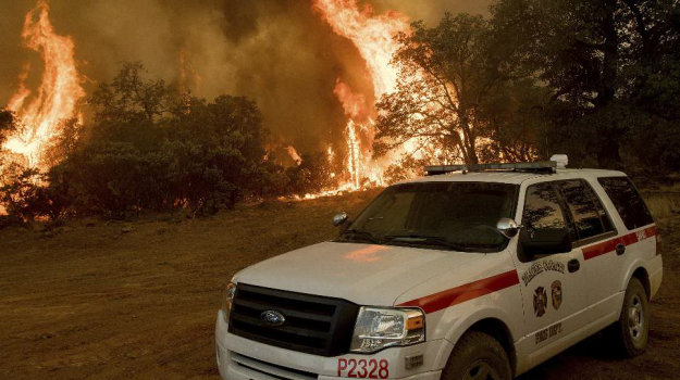 caldo record canada, incendi california, Sicilia, Mondo