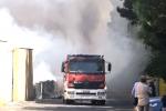 Palermo, vasto rogo alla Marinella: minacciate anche le case - Video