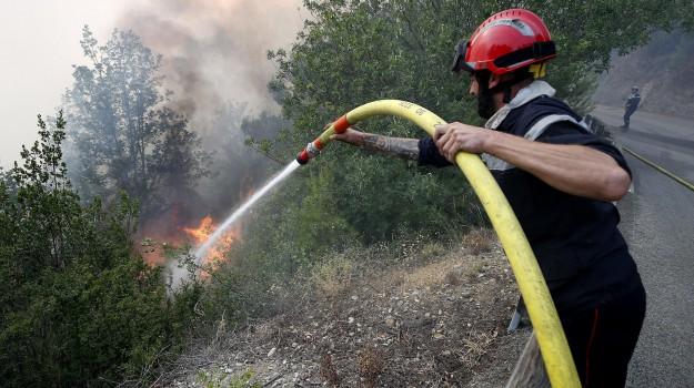 incendi, Palermo, Pasqua, Palermo, Cronaca