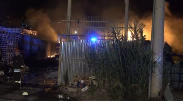 Incendi a Palermo, Palermo, Cronaca
