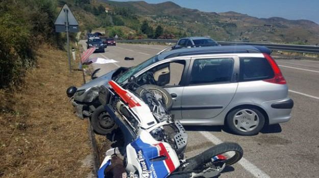 incidente mortale, Michele Ghidara, Messina, Cronaca