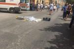 Donna uccisa in centro Trapani da un'auto pirata, si costituisce un giovane