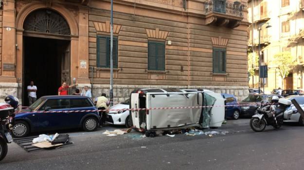 incidente a palermo, Palermo, Cronaca