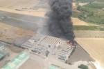 Brucia da due giorni il sito di Kalatimpiati