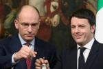 """Renzi presenta il suo libro e nega il """"golpe"""" a Palazzo Chigi: nuovo scontro con Letta"""