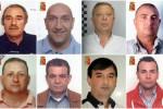 Mafia ed estorsioni, oltre 100 anni di carcere per 14 condannati nell'Agrigentino - Nomi e foto