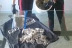 Palermo, marijuana conservata in un secchio di pittura: un arresto alla Zisa