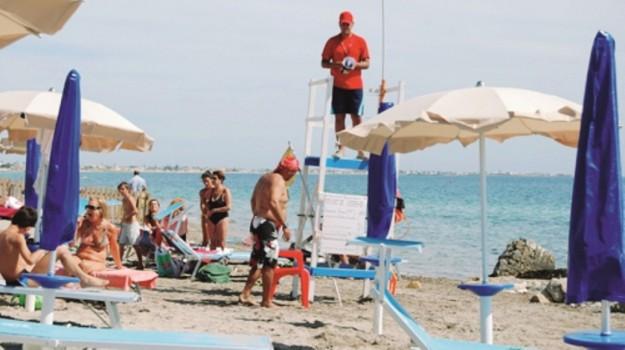 Spiagge a Marsala, Trapani, Cronaca