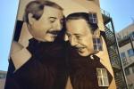 Inaugurato il murales di Falcone e Borsellino, Bindi: Cosa nostra si riorganizza - Video
