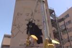 """L'altra Palermo di Falcone, al """"Nautico"""" un murales che lo ricorda insieme a Borsellino"""