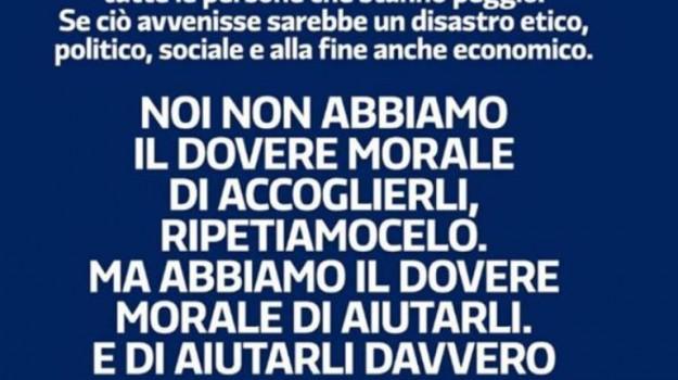migranti post pd, Matteo Renzi, Sicilia, Politica