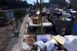 Palermo, rifiuti abbandonati per strada in via Ripellino - Foto