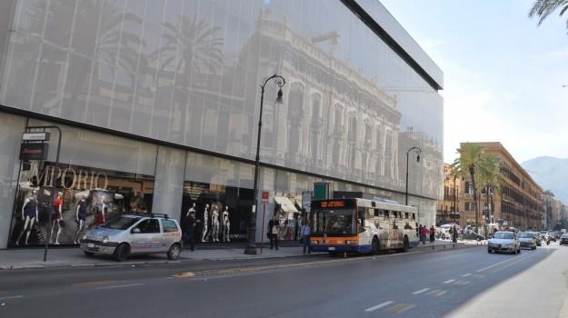commercio, Rinascente, Palermo, Economia