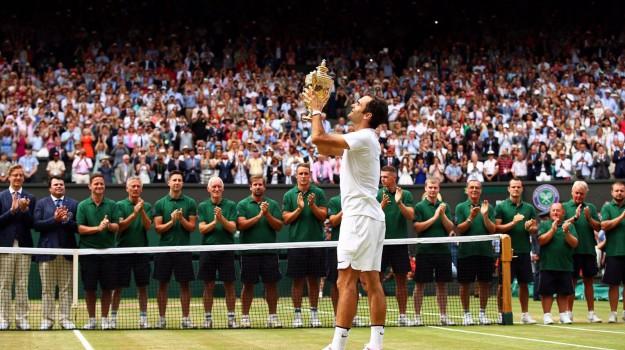 wimbledon, Roger Federer, Sicilia, Sport
