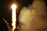 Partita la Soyuz con l'astronauta italiano Paolo Nespoli