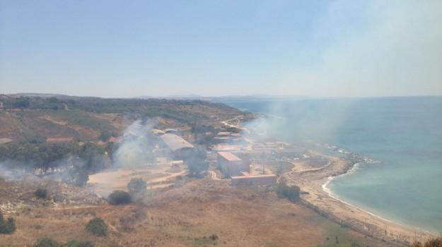 incendio sciacca, piromane arrestato, Agrigento, Cronaca