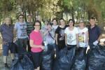 Sciacca, sindaco e volontari puliscono pineta