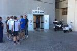 """La finanza torna nella sede del Palermo, nuovo attacco dei tifosi a Zamparini: """"Siamo stanchi, la città merita rispetto"""""""